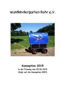 thumbnail of Konzeption Waldkindergarten Rohr Stand 2015