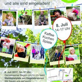 Einladung zum Sommerfest 2017 - 20 Jahre Waldkindergarten Rohr