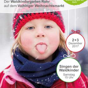 Plakat Vaihinger Weihnachtsmarkt 2017